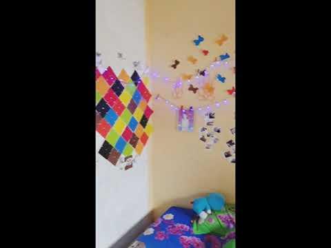Cara Menghias Kamar Dengan Kertas Origami Dan Lampu Tumblr Temukan Contoh