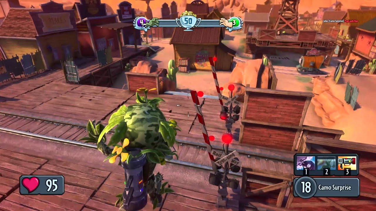 Plants Vs. Zombies Garden Warfare PC Gameplay Dev Diary   YouTube