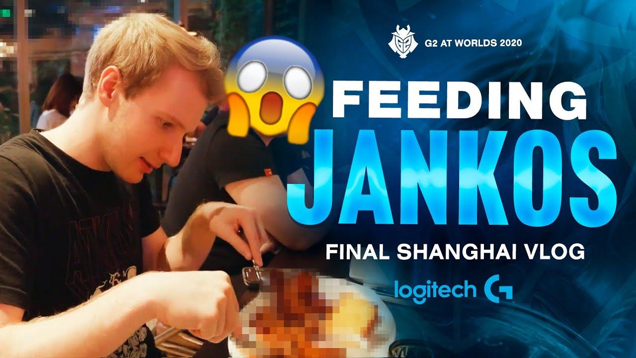 Feeding Jankos   G2 At Worlds 2020