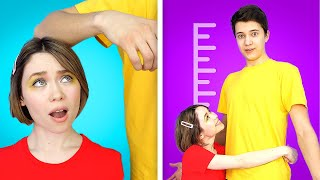 TALL PEOPLE VS SHORT PEOPLE! || Funny and Relatable Situations by 6-Teen.