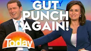 Karl gets a Gut Punch... Again! | TODAY Show Australia