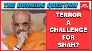 2 Terrorists Killed In Ongoing Anantnag Encounter, Terror A Challenge For Shah? | Burning Question