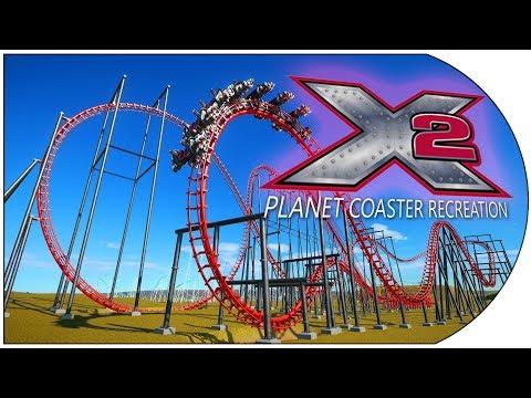 Planet Coaster Recreations: 17 - X2  - Six Flags Magic Mountain - USA