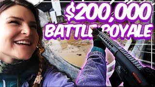 I played in MrBeast's $200,000 IRL BATTLE ROYALE! | KittyPlays