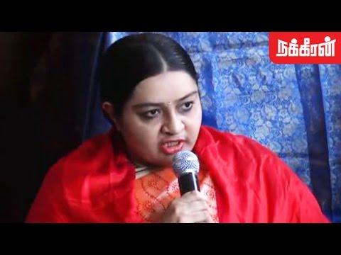 இன்று முதல் அரசியல் பயணம் - Deepa Meets Press at MGR 100th Birthday Event