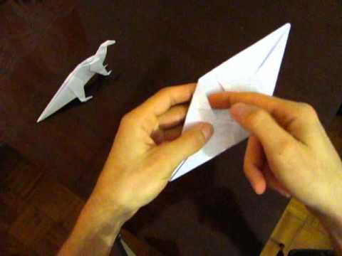 Оригами для детей - травоядный