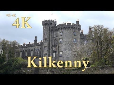 Irland Rundreise Doku, Kilkenny Castle Sehenswürdigkeiten in 4K (3/7)