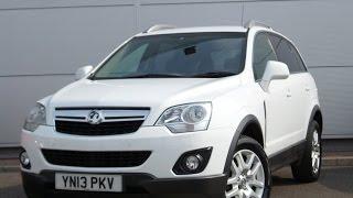 2013 13 Vauxhall Antara 2.2 CDTi Exclusiv 5dr Start Stop in white