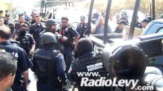 Bronca entre la policía federal y la estatal de Colima
