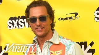 Matthew McConaughey Says Filming 'The Beach Bum' Was A Vacation