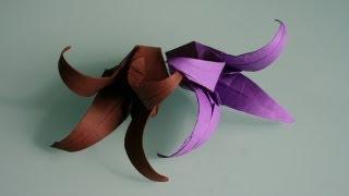 Origami Glockenblume Bell Flower