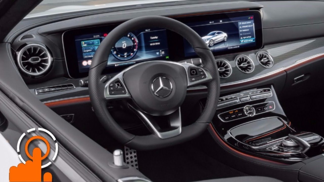 Mercedes E Class Coupe 2018 Infotainment Youtube