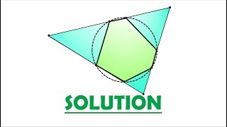 Solution 72: Hexagon Inside a Nine-Point Circle