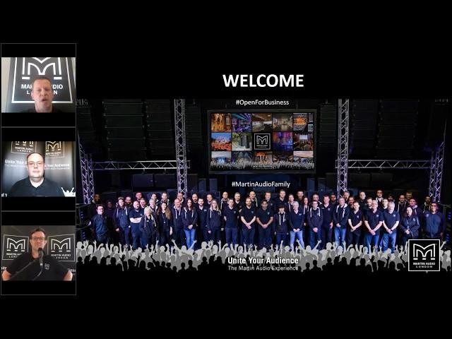 Martin Audio Virtual Trade Show - Portfolio Overview