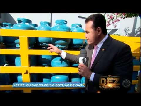 Xerife do consumidor: aprenda os cuidados com o botijão de gás