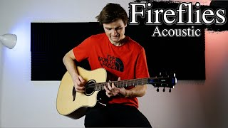 Fireflies - Owl City - Acoustic Guitar Cover