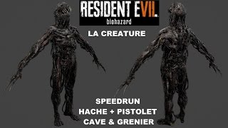 RESIDENT EVIL 7 [Fin alternative] Créature + infection + fuite au grenier