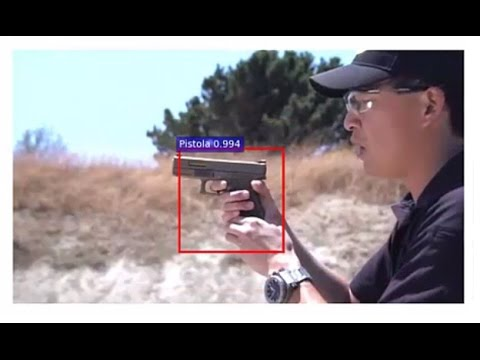 Искусственный интеллект научился узнавать оружие на видео
