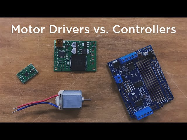 Motor Drivers vs. Motor Controllers - Tutorial Australia on