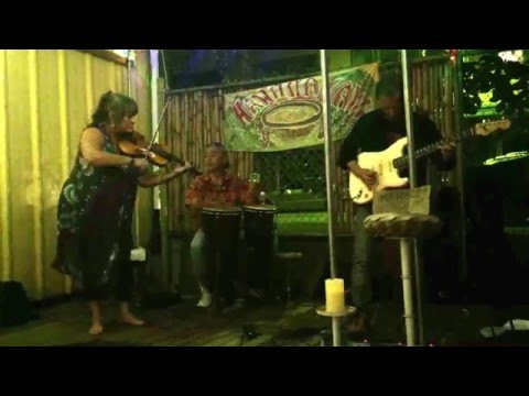 """Green Flash Performing """"Shaman"""" at The Hilo Bayfront Kava Bar Hilo, Hawaii 01/16/16"""