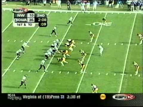 Iowa Football 2002 Iowa 62 Northwestern 10