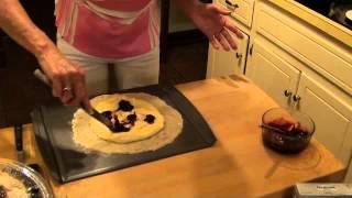 Tresa Hargrove's Italian Lemon Lavender Crostata