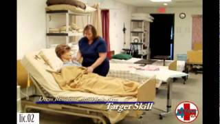 Repeat youtube video Dress a Resident with a Weak Arm CNA Skill