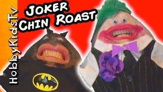 Chinterview Roast with Batman, Hulk and Wonderwoman by HobbyKidsTV