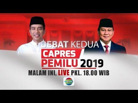 MALAM INI! Saksikan Debat Kedua Capres Pemilu 2019 - 17 Februari 2019