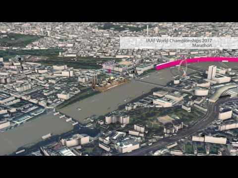 IAAF World Championships Marathon Route