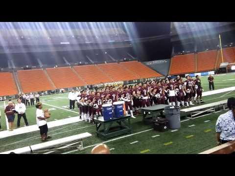 Farrington high school alma mater (football game)