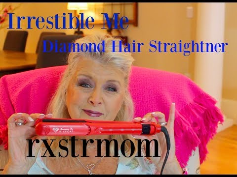 Hair Disaster ??? Irrestible Me Diamond Hair Straightener To the Rescue 🎀