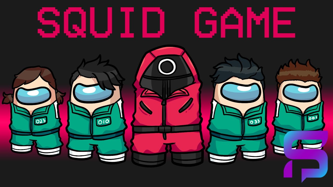 Winning the SQUID GAMES in Modded Among Us