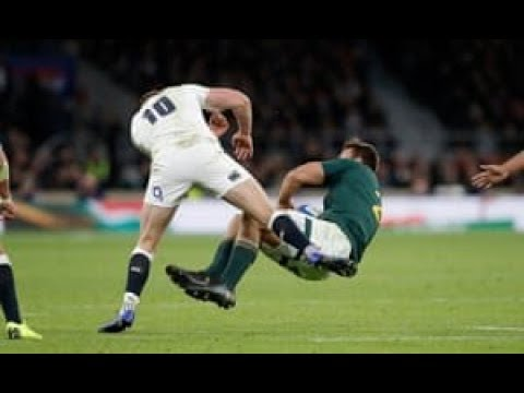 Why Owen Farrell's Tackle vs South Africa Should Have Been a Penalty