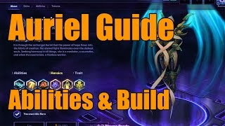 Heroes of the Storm - Auriel Guide - Hero Overview, Abilities, & Build