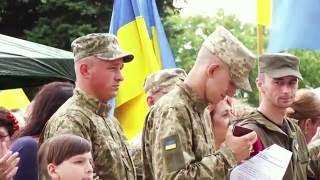 Вторая годовщина освобождения Лисичанска 2016