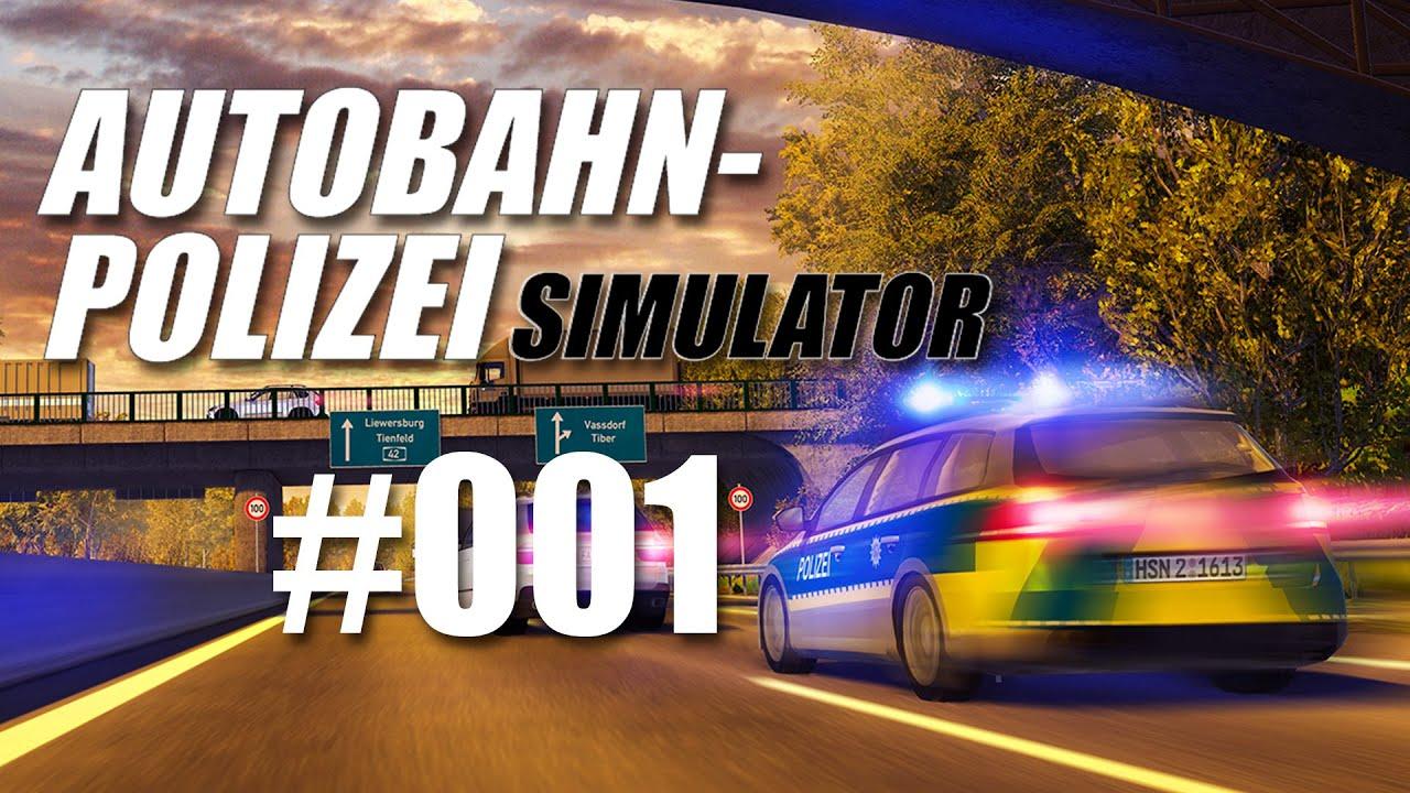 Autobahnpolizei-Simulator #001 - Verkehrskontrollen! - YouTube