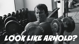 ARNOLD SCHWARZENEGGERS HIGH VOLUME SUPERSET CHEST AND BACK WORKOUT