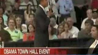 Obama Town Hall Event