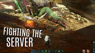 WE STOLE THE SERVERS 1ST GIGA and More PVP - MTS PVP (E4) - ARK Survival