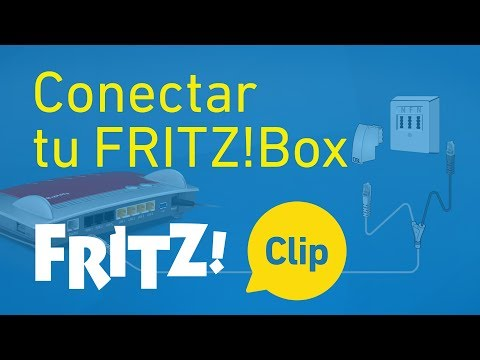 FRITZ! Clip – Conectar tu FRITZ!Box en 5 minutos