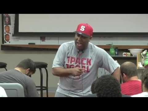 ET Speaks to Wolfpack Football