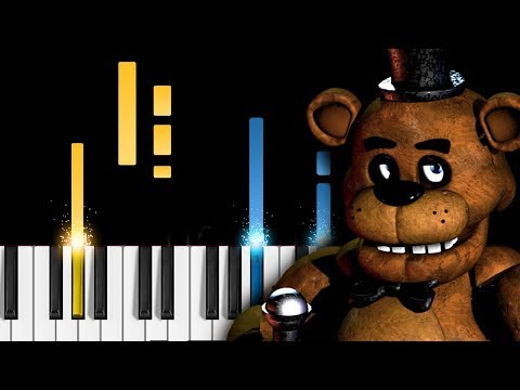 "Five Nights at Freddy's 2 - ""It's Been So Long"" - The Living Tombstone - Piano Tutorial (FNAF2) thumbnail"