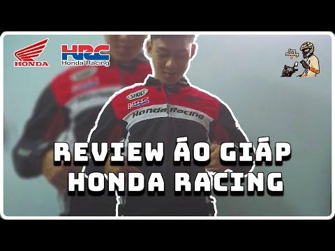 Rì Viu Áo Giáp Honda Racing Full Giáp Giá Sinh Viên Sẽ NTN | Sang Vlogs