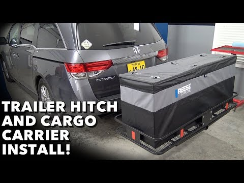 Get More Space & Utility with a Hitch, Cargo Carrier & Cargo Bag!