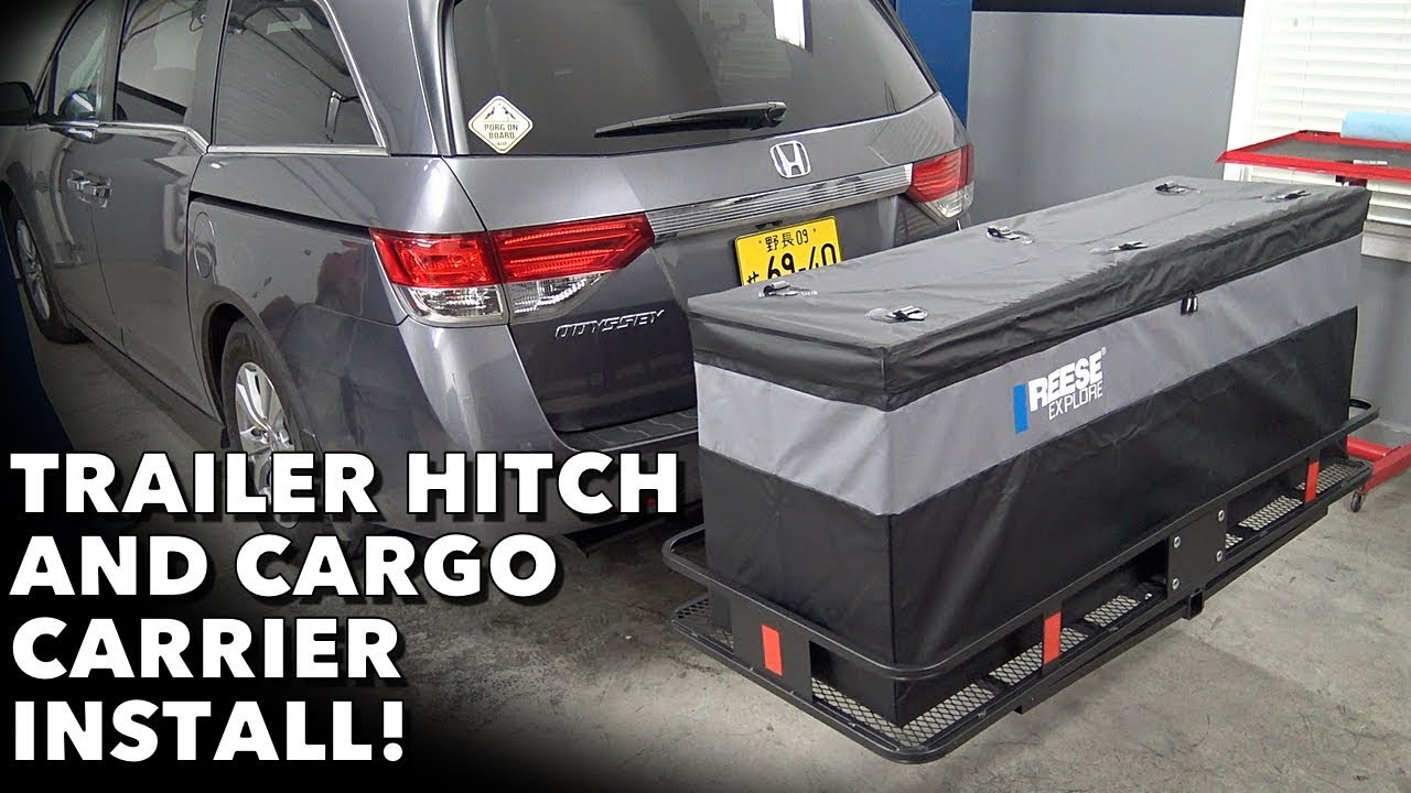 get more space utility with a hitch cargo carrier cargo bag