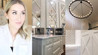 BIG DECOR REVEALS! Foyer, Kitchen, & Bathroom Remodel!