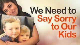 Apologizing to our Kids || Mayim Bialik