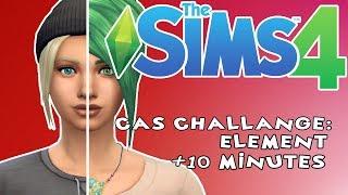 The Sims 4 PL CAS Challenge: ELEMENT + 10 MINUTES /w Undecided Piotrek