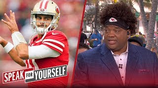 Jimmy G has got to throw 200+ yards to beat Chiefs — Whitlock | SPEAK FOR YOURSELF | LIVE FROM MIAMI